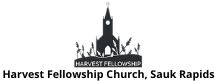 Harvest Fellowship Church Logo, Thrive 2020 VE Gold Sponsor