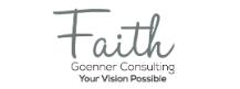 Faith Goenner Consulting Logo, SLR Bronze Sponsor