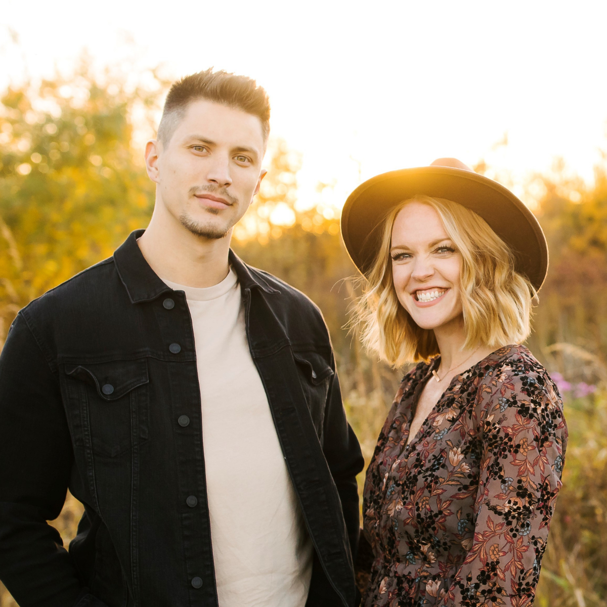 Derrick and Ashley Benoit - Garden Coffee Worship Leaders